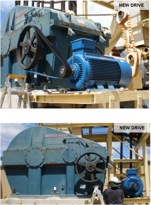 Sugar Cane Processing Poly Chain GT Carbon Crusher