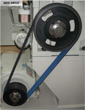 Plastic Extruder Poly Chain Drive