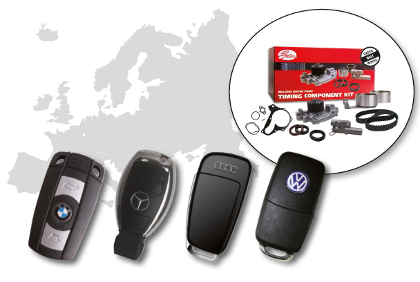 Unlock More European Cars With Gates Timing Component Kits