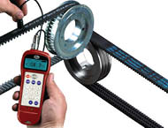 Sonic Tension Meter For Accurate Belt Tension Readings