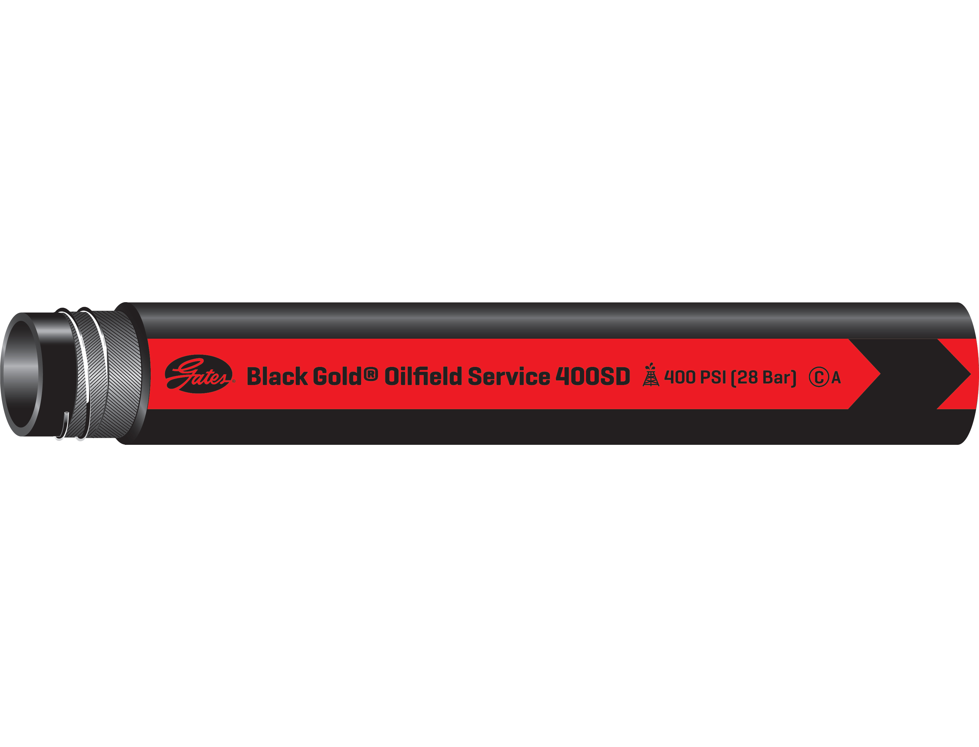 Black Gold Oilfield Service Suction & Discharge Hose