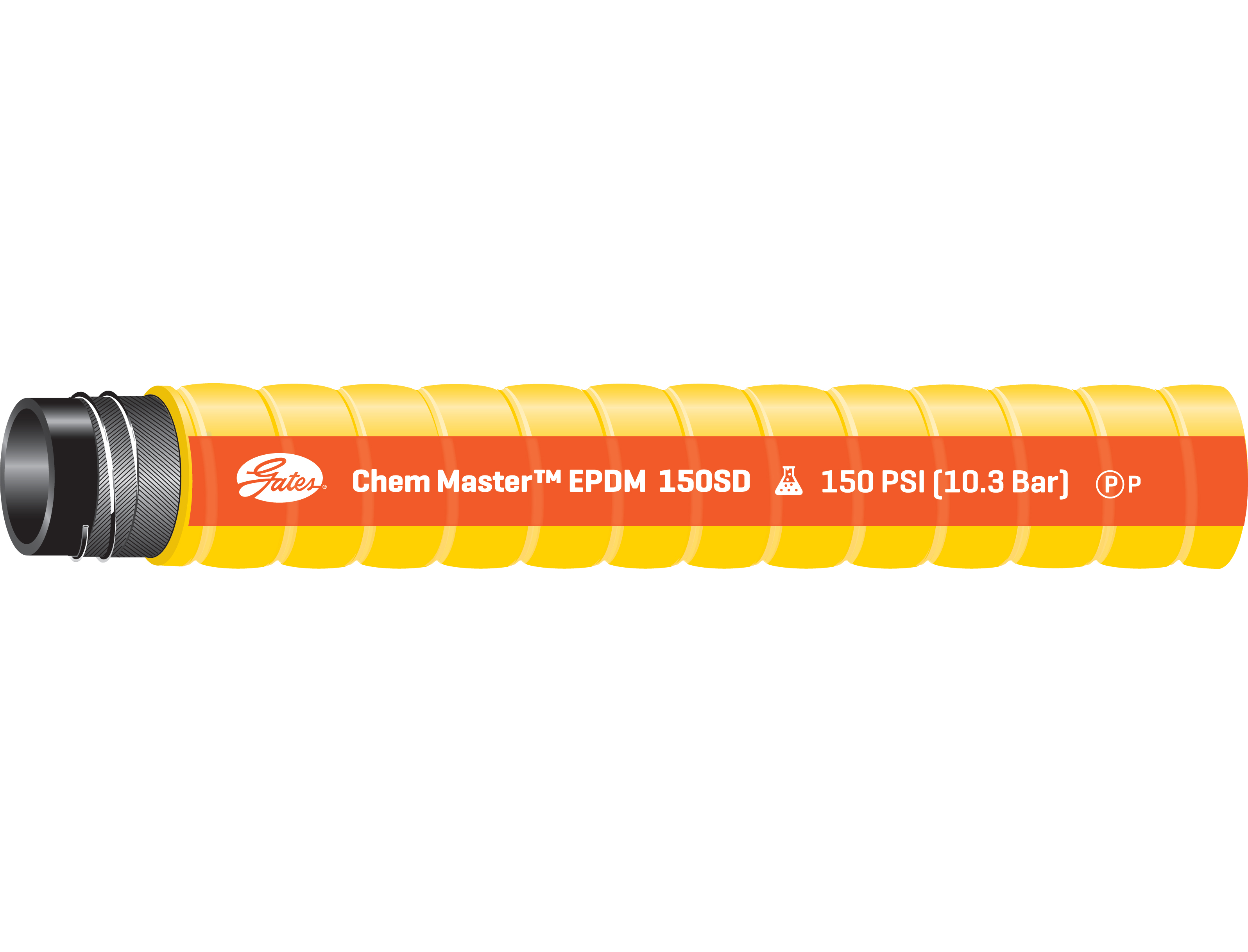 Chem Master EPDM Acid & Chemical Resistant Hose
