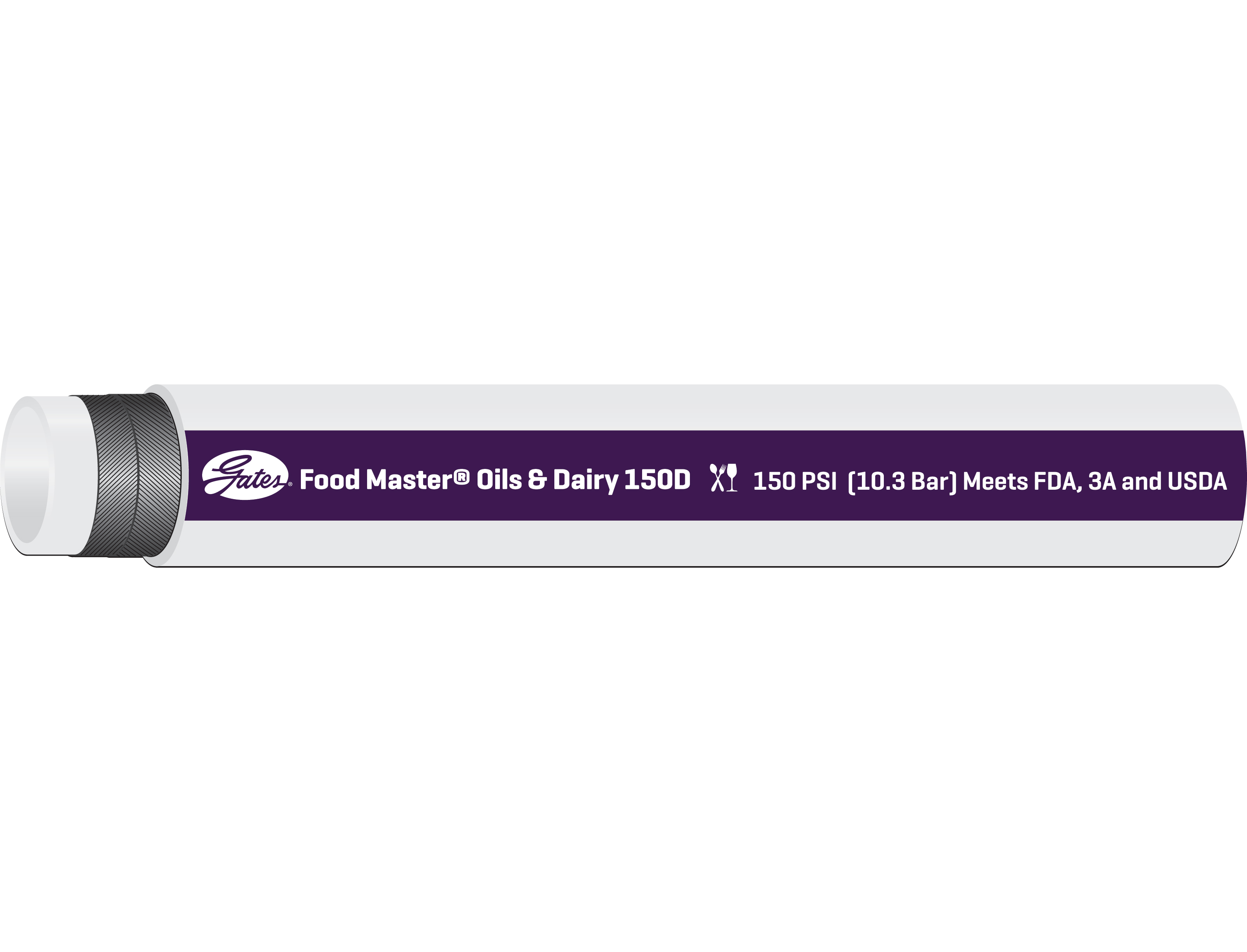 Food Master Oils & Dairy 150D Transfer Hose