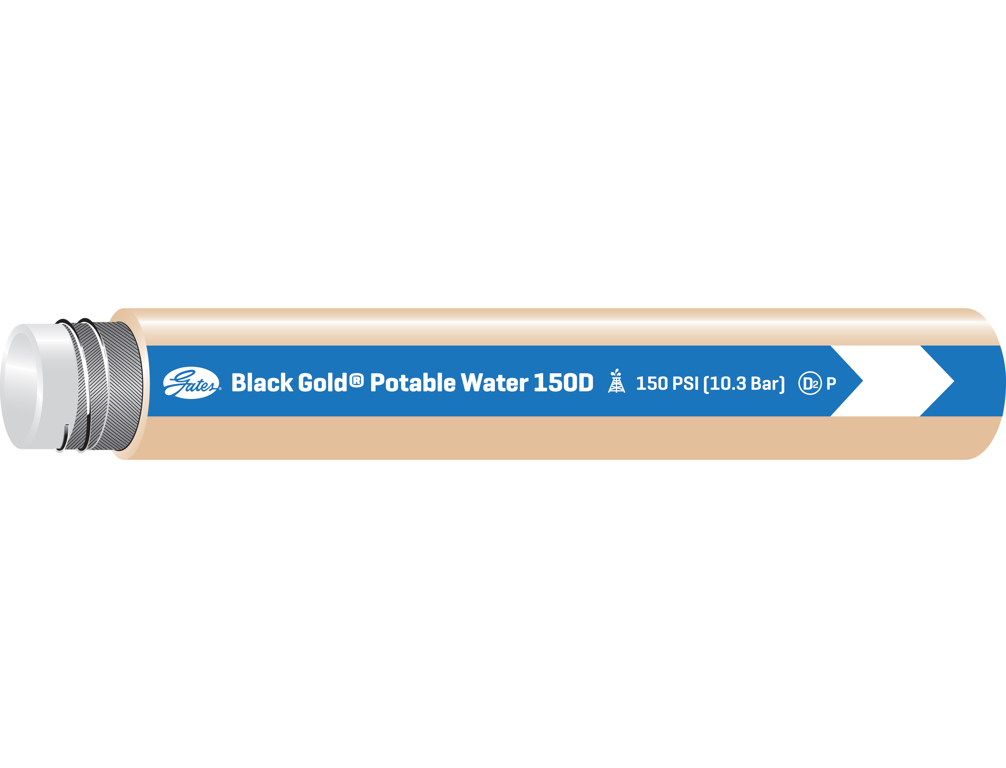 Food Master Potable Water (150-300)D Transfer Hose