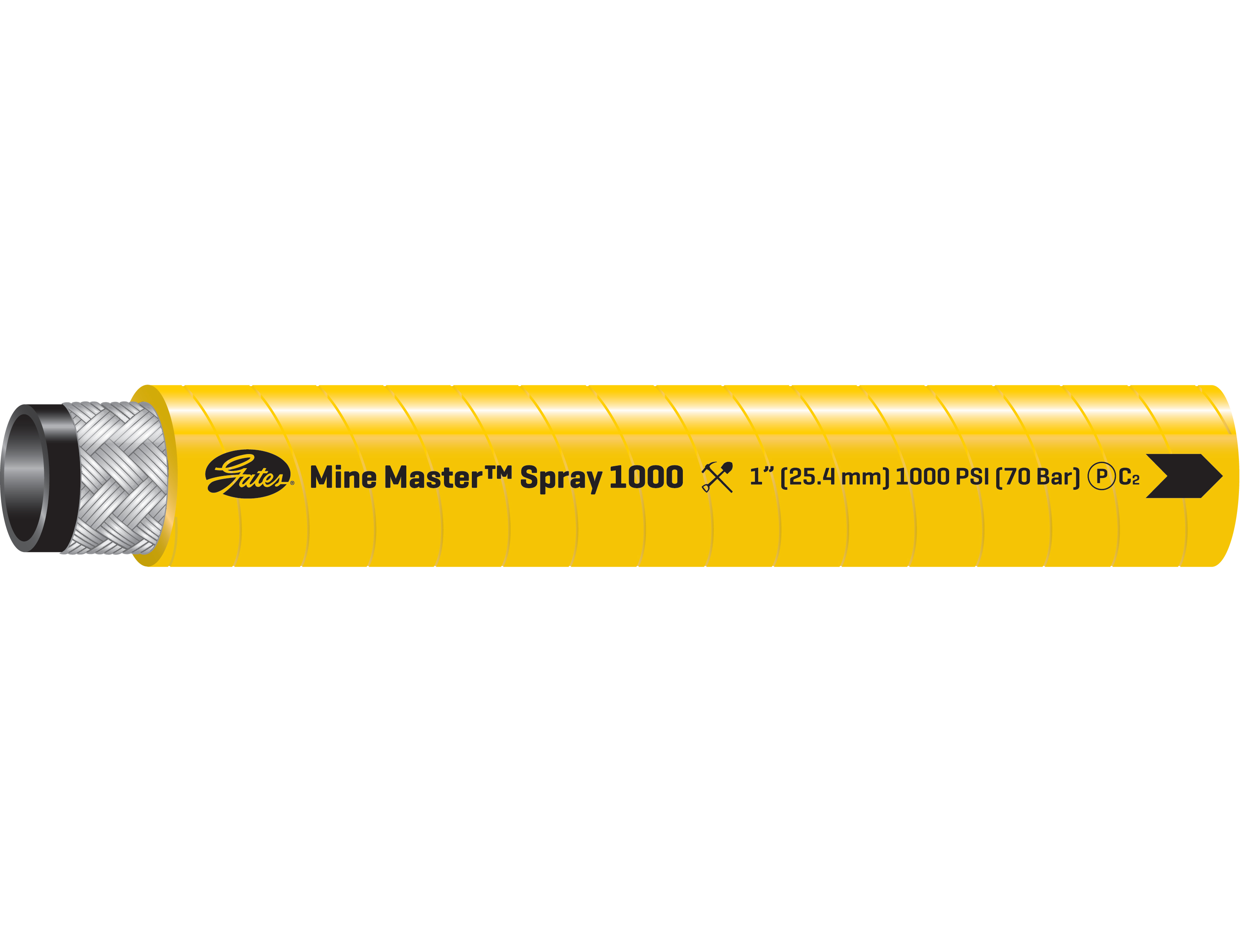 Mine Master Spray 1000 Hose For Underground Mining Applications