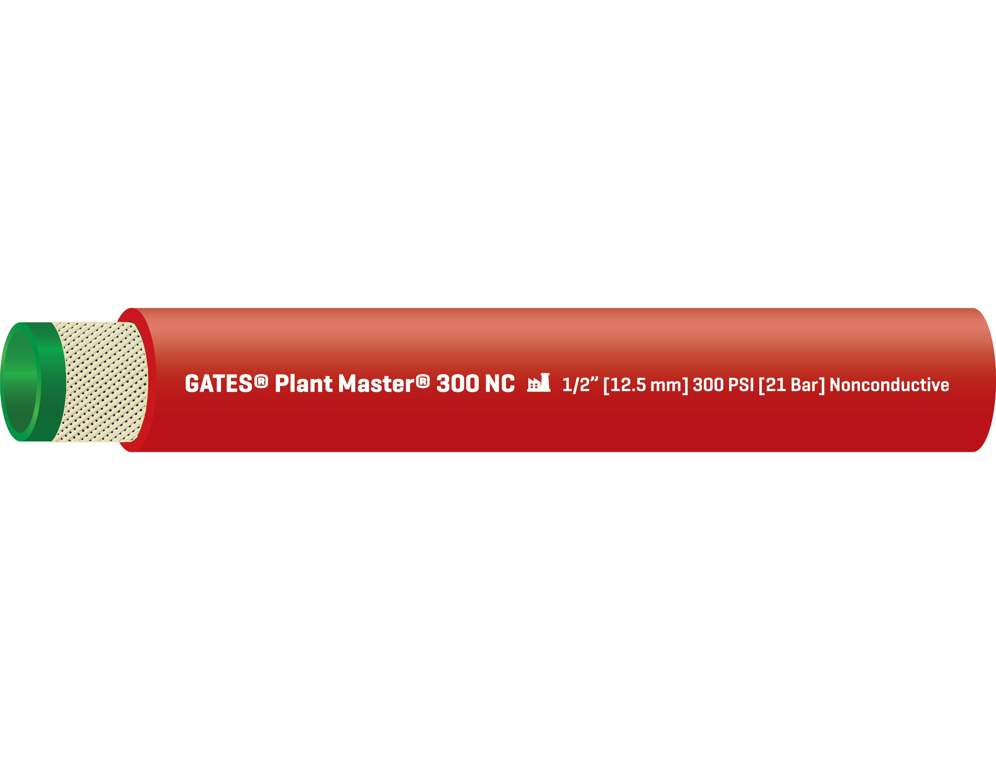 Plant Master 300 NC Hose For Air and Water Applications