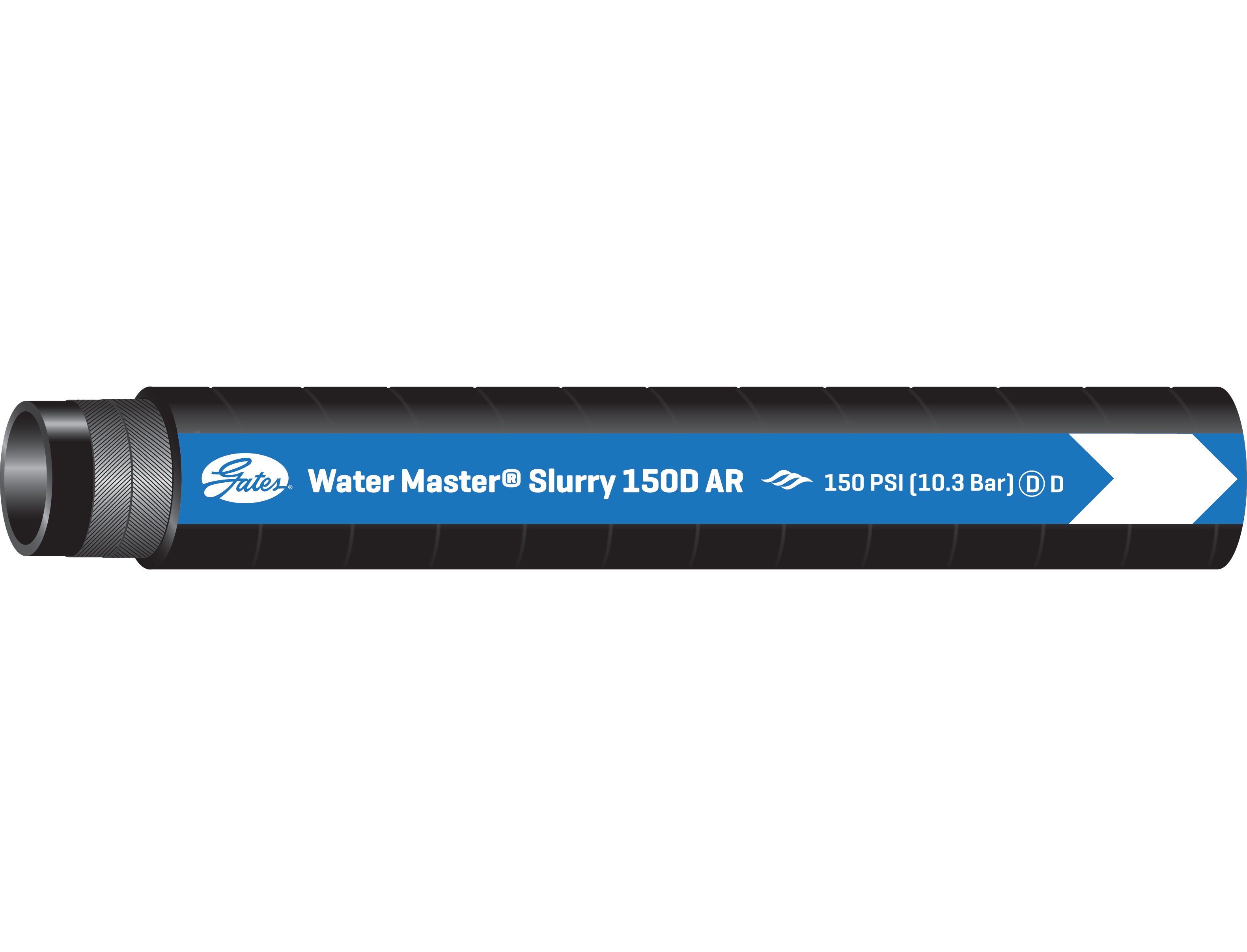 Water Master Slurry 150D AR Heavy-Duty Discharge Hose