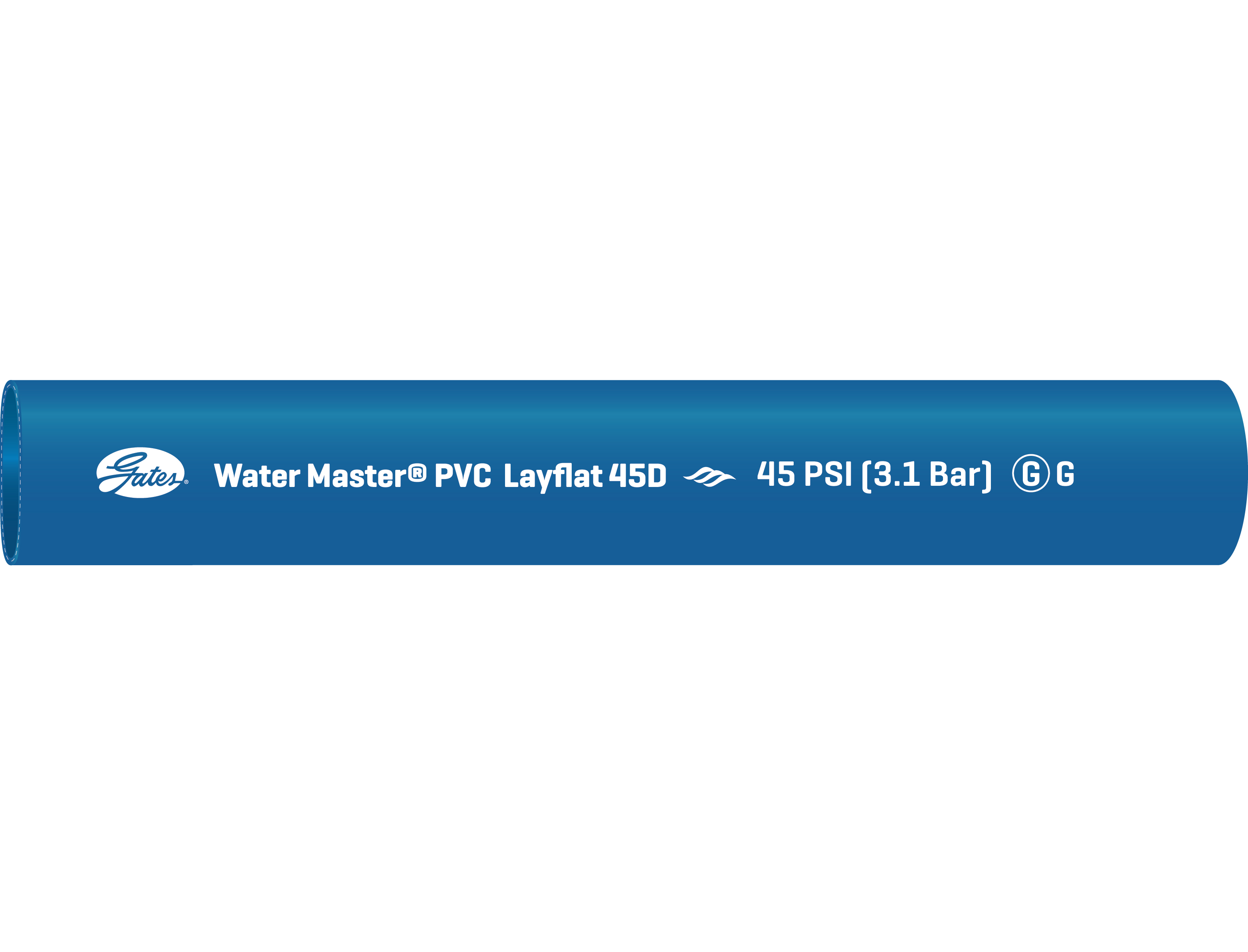 Water Master-Flex Lay-Flat (45-75)D Discharge Hose
