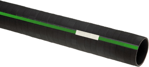 Green Stripe Straight Coolant Hose
